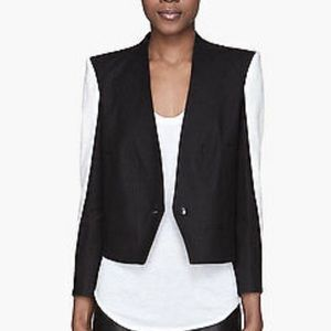 Helmut Lang Jackets & Coats - Helmut Lang black and white blazer jacket